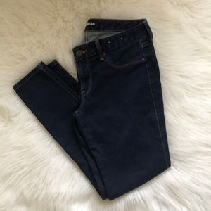Express low rise skinny stretch leggings jeans